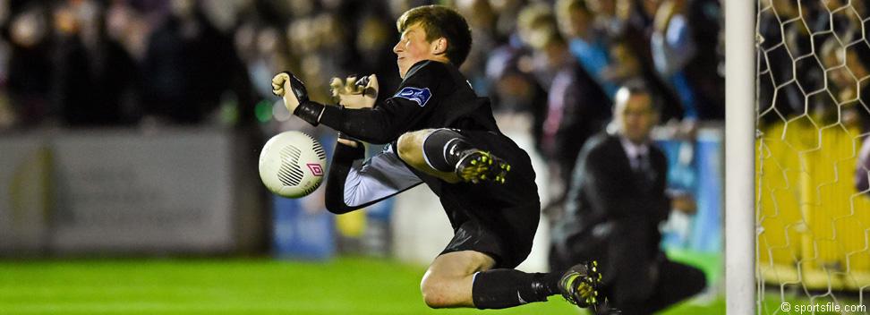 Conor O'Malley detiene uno de los penalties