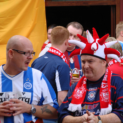 SAINTS AND ODENSE FANS FANS