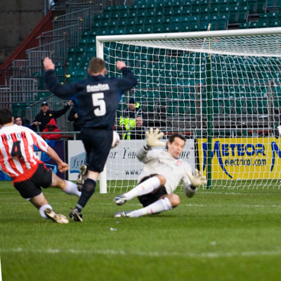 MULCAHY SCORES IN CUP FINAL