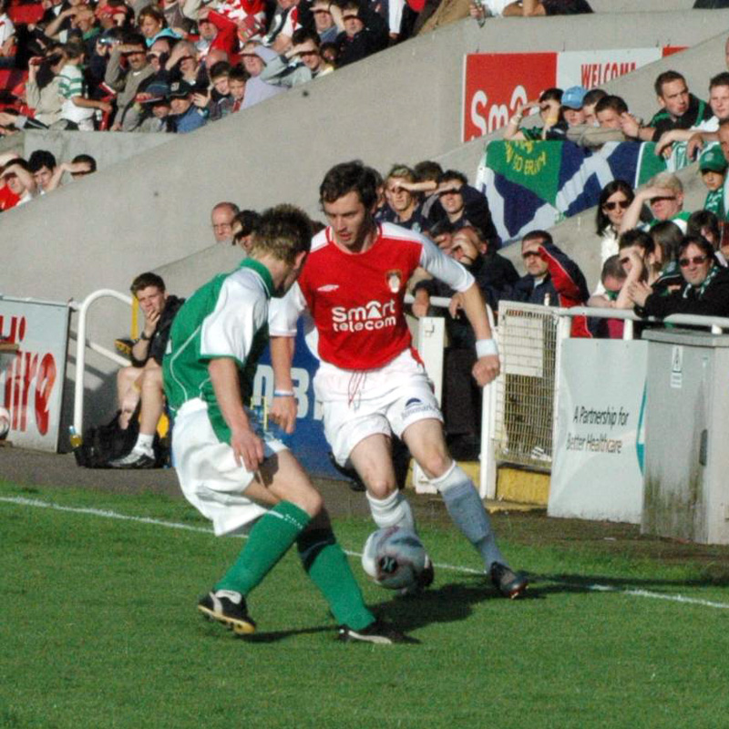 AIDAN O'KEEFE AGAINST HIBS