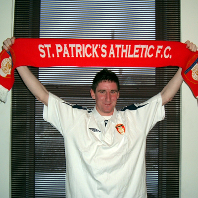 IAN BERMINHAM SIGNS FOR ST PAT'S