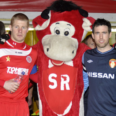 BENNY THE BULL AND CAPTAINS