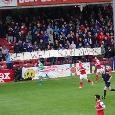 SAINTS SHOW SUPPORT FOR FARREN