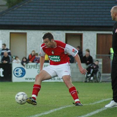 O'BRIEN IN ACTION AGAINST COBH
