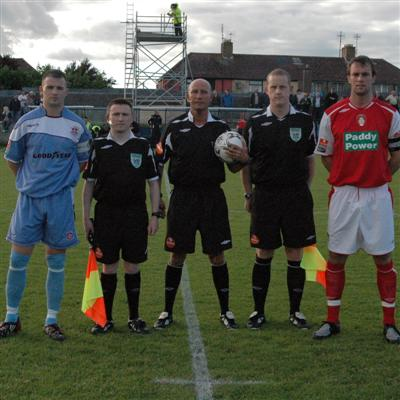 CAPTAINS AND OFFICIALS