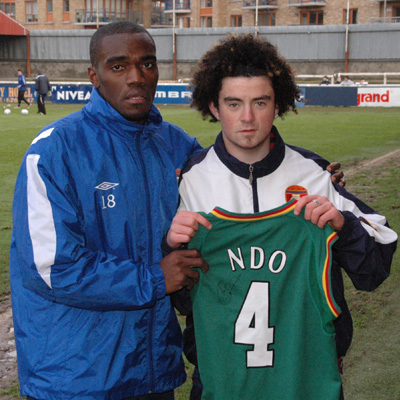 JOSEPH NDO SIGNS CAMEROON JERSEY