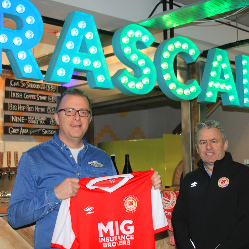 RASCALS TO SPONSOR MAN OF THE MATCH AWARD