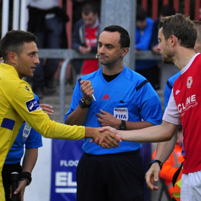 CAPTAINS BEFORE KICK-OFF