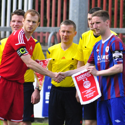 BERMINGHAM WITH MATCH OFFICIALS