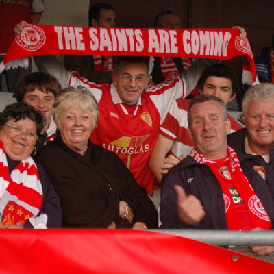 FANS ENJOY TRIP TO THE SHOWGROUNDS