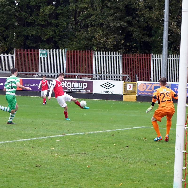 ACTION FROM THE U17 QUARTER FINAL CUP GAME