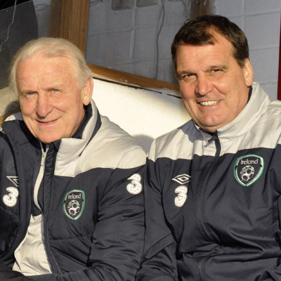 TRAPATTONI AND TARDELLI AT RICHMOND