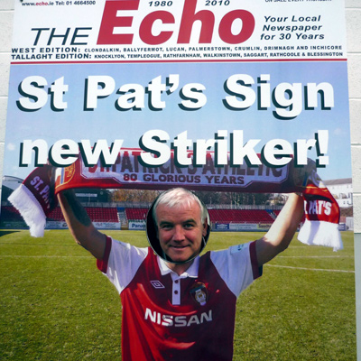 SIGN UP TO ST PAT'S WITH THE ECHO