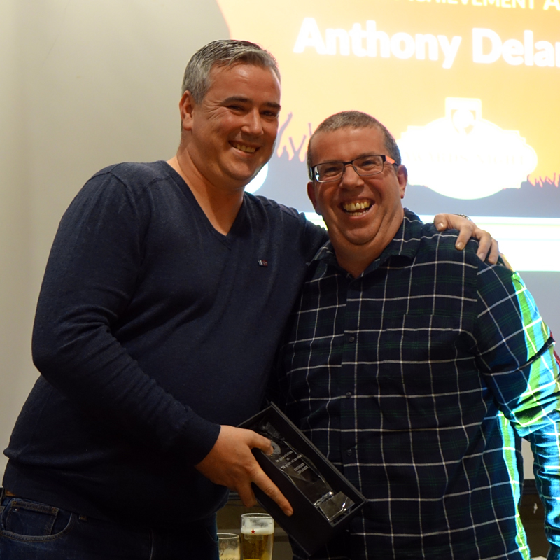 10 YEAR ACHIEVEMENT AWARD: ANTHONY DELANEY