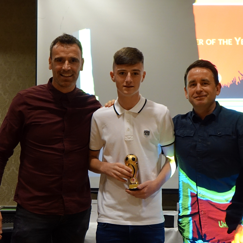 U15 PLAYER OF THE YEAR: BEN MCCORMACK