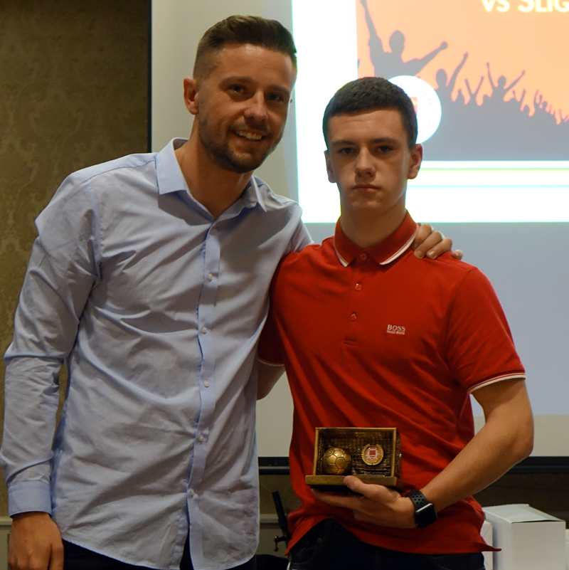 U17 GOAL OF THE SEASON: LUKE HENNESSEY