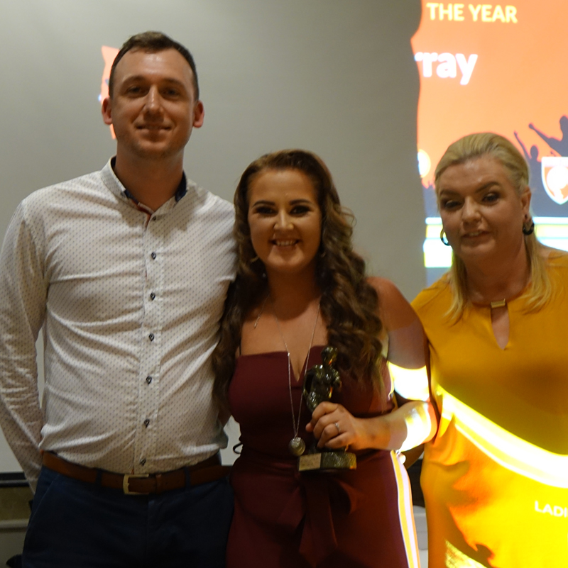 LADIES PLAYERS PLAYER OF THE YEAR: ZOE GREGORY