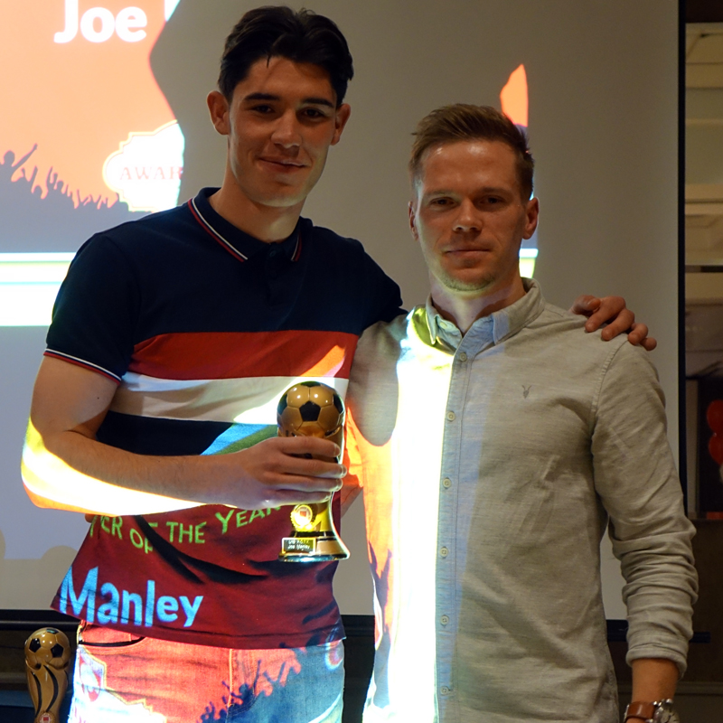 U19 PLAYER OF THE YEAR: JOE MANLEY