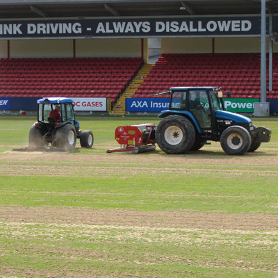 RICHMOND PARK PITCH IMPROVEMENTS