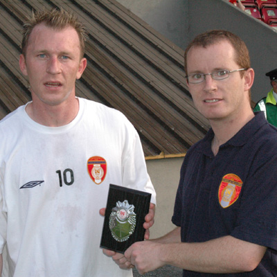 MOLLOY PICKS UP LEISUREPLEX PLAYER OF THE MONTH AWARD